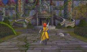 Dragon Quest VIII (3DS) Liquid Metal Slime Trodain Castle