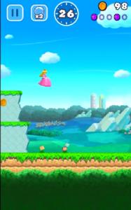 Super Mario Run - Princess Peach
