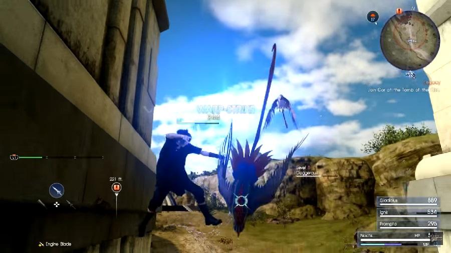 Daggerquill Enemy Stats List Final Fantasy 15 Ffxv