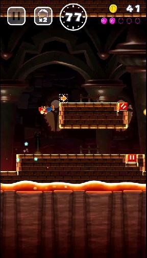 Gameplay Video Guide 3-4: Fire Bar Castle! [Super Mario Run]