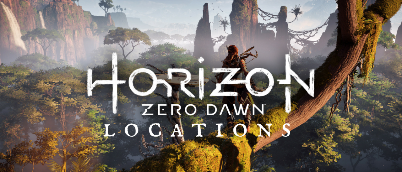 Horizon Zero Dawn Karte.Horizon Zero Dawn Locations Guide Directory