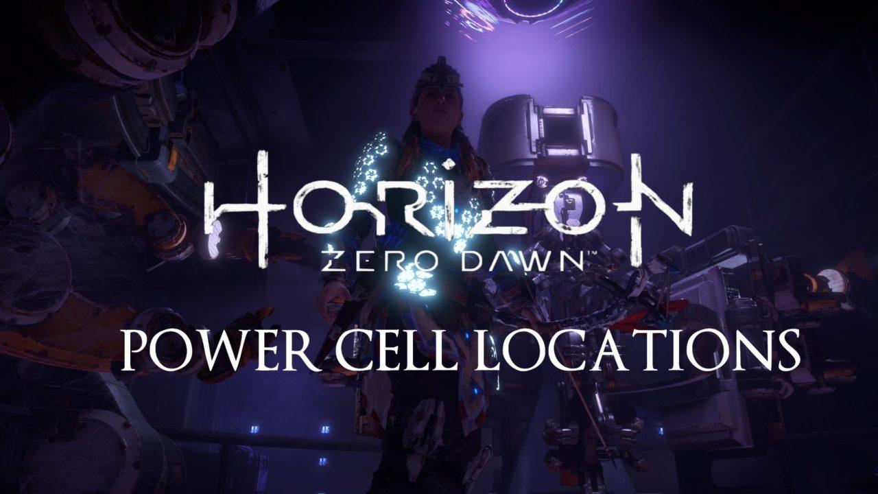 zero dawn power cells
