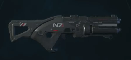mass effect andromeda weapons valkyrie