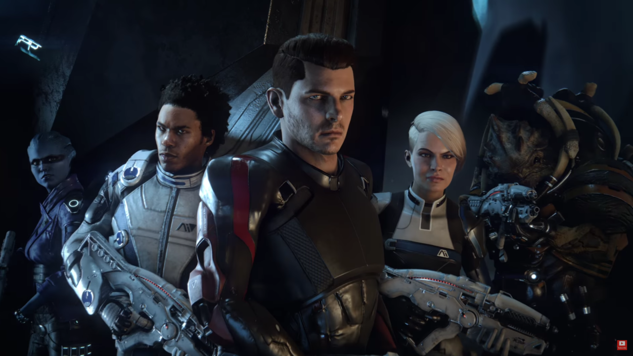 mass effect andromeda main characters mass effect andromeda walkthrough