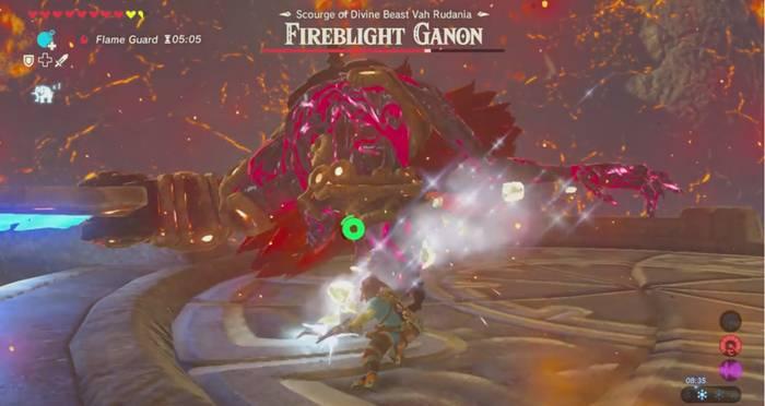 Fireblight Ganon Boss Guide The Legend Of Zelda Breath Of